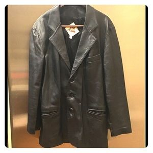 Other - 😎Men's Leather Jacket